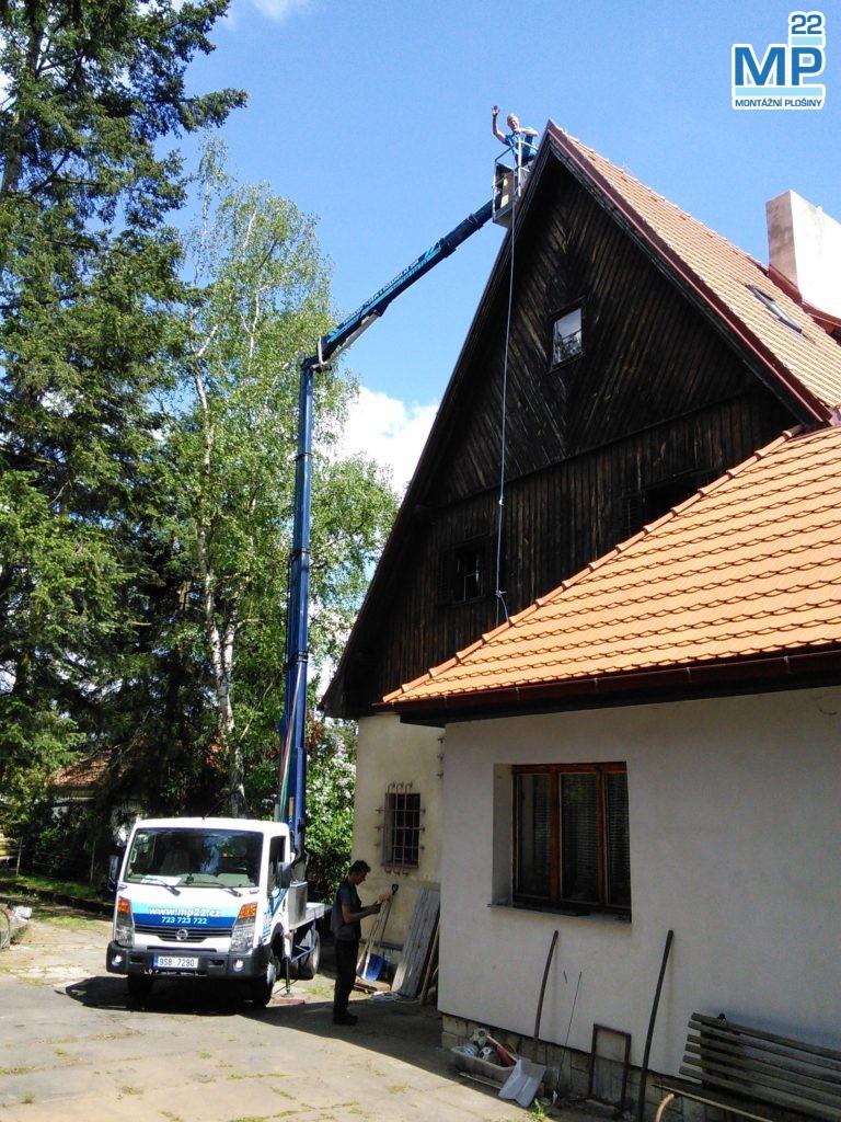 střecha plošina