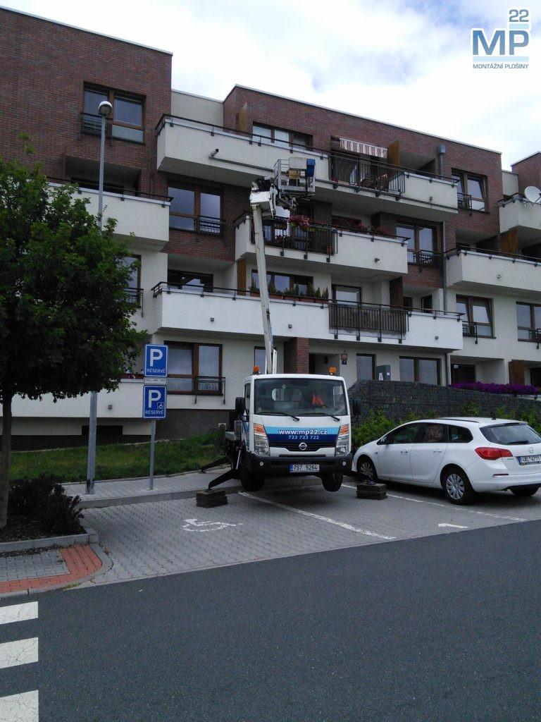 oprava balkonu plošinou