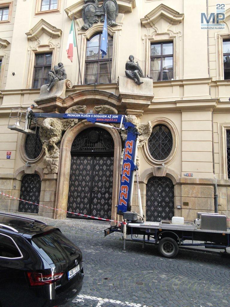 velvyslanectví Itálie Nerudova